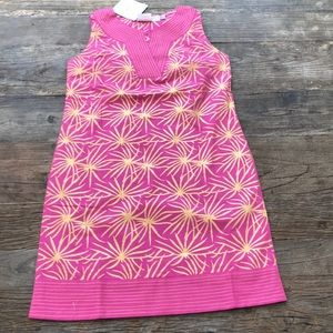 🦋SALE🦋Gretchen Scott Tunic Dress Pink Gold NWT